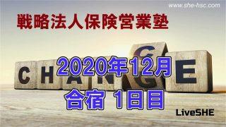 SHE本講座 2020年12月合宿(1日目)
